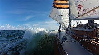 """Суровый яхтинг в Балтике. Крейсерская яхта Л-6 """"Варяг"""""""