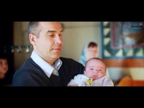 Видеосъемка крещения. Церковь святых Петра и Павла