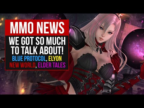 MMORPG News: Blue Protocol CBT, PSO2 PC, Elyon, New World Delayed, RaiderZ Update