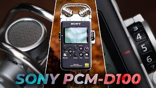 Sony PCM-D100: Best Portable Recorder Ever?