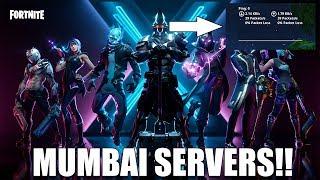 FORTNITE MUMBAI SERVERS ARE HERE!! | 0ms in Creative | Battle Pass Giveaway Update (Code- poru99_yt)