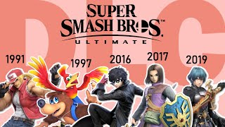 Timeline of Character Debuts (Updated w/ DLC)   Super Smash Bros. Ultimate