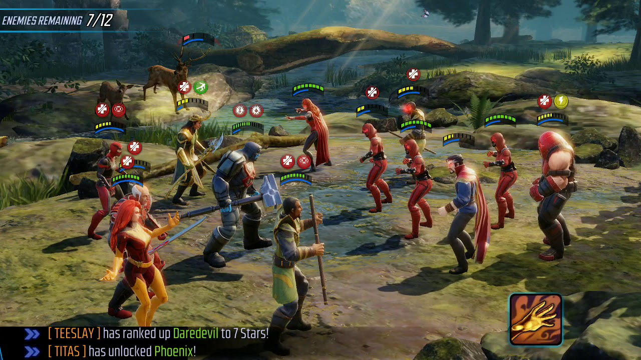 Legendary Event: Phoenix Rising tier 6 Phoenix unlock MSF Marvel Strike  Force