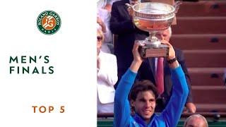 Top 5 Men's Finals - Roland-Garros