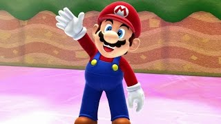 Mario & Sonic at the Sochi 2014 Olympic Winter Games - Mario Stage Medley