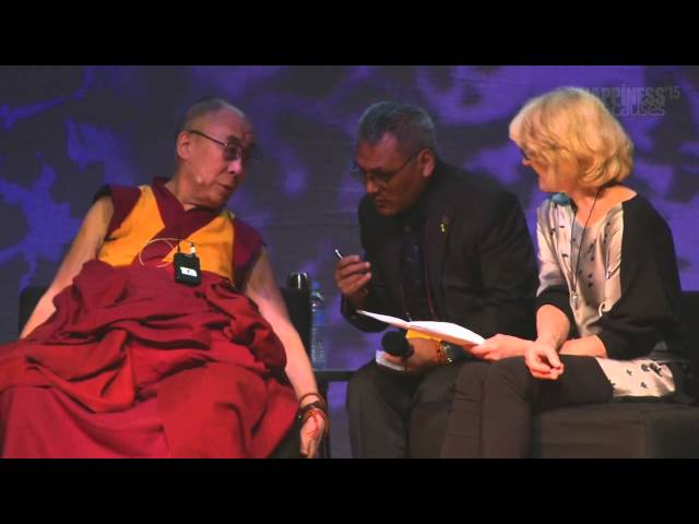 Love, compassion and ethics - a dialogue with the Dalai Lama at Happiness & Its Causes 2015