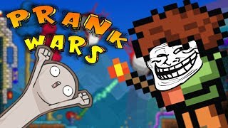METEORITE ARMOUR?!? | Prank Wars Terraria episode 2 thumbnail