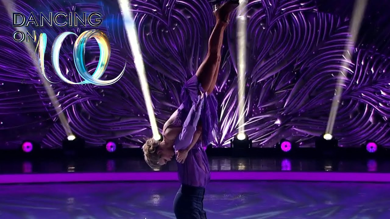 James Performs A Perfect Bolero Dancing On Ice 2019 Youtube