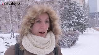 Snehová kalamita alebo keď sneží v hlavnom meste