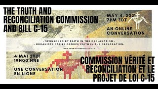 The Truth and Reconciliation Commission and Bill C-15