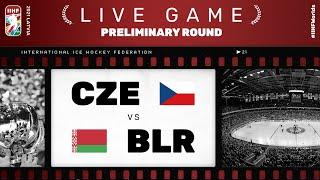 Czech Republic - Belarus | Live | Group A | 2021 IIHF Ice Hockey World Championship