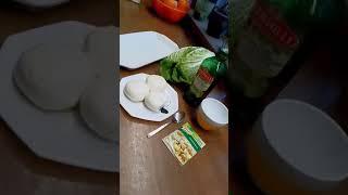 Рулетики из китайской капусты с моцареллой...