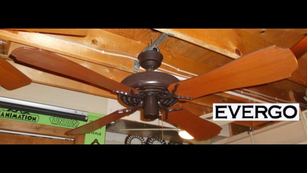 Evergo Banana Fan Ceiling Hd Remake