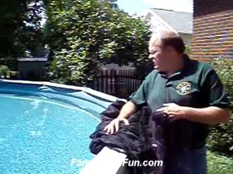 Swimming Pool Leaf Net Covers Youtube