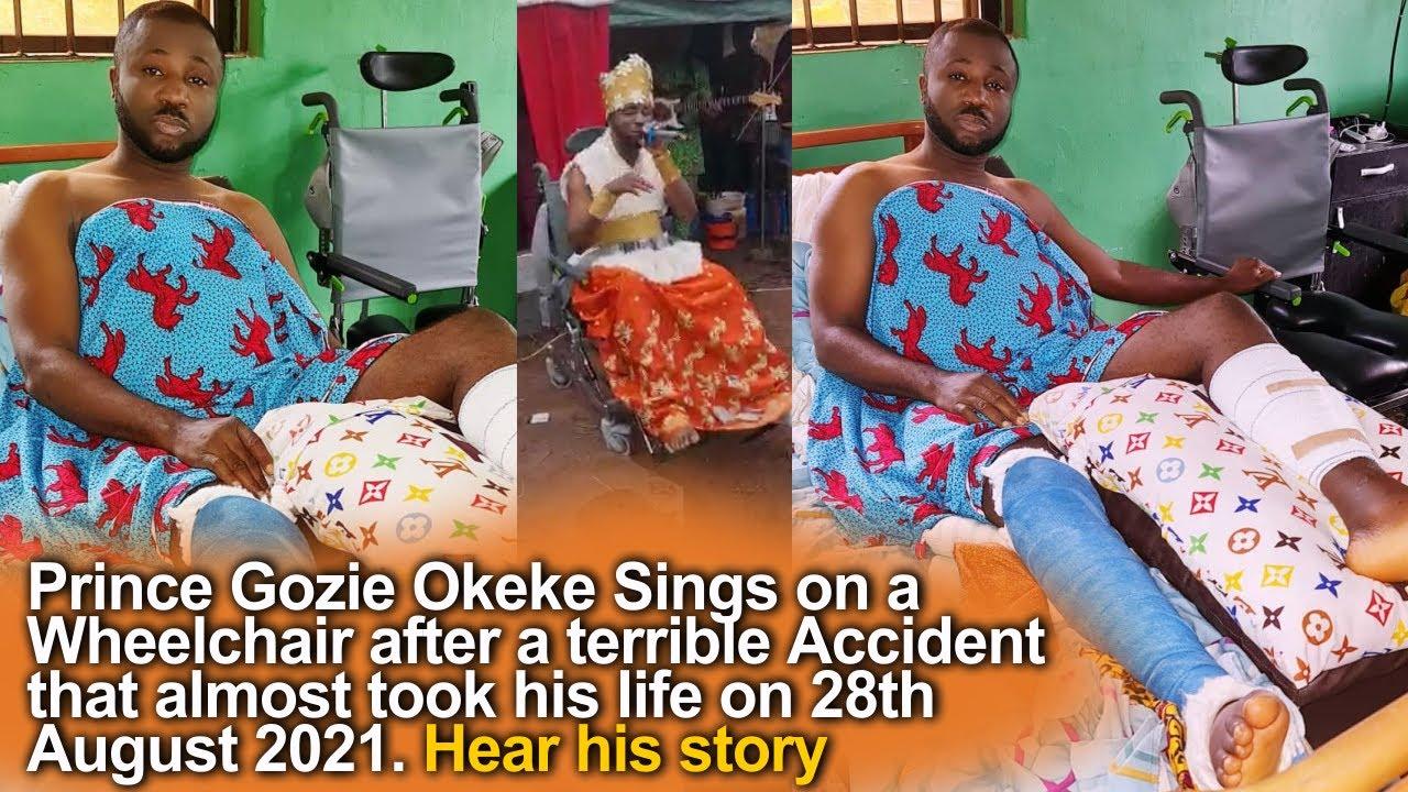 Download Prince Gozie Okeke - The Award of best Gospel Artist 2021 that almost took my life.