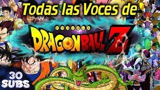 Todas las Voces de Dragon Ball en menos de 15 minutos  #19