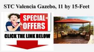 [best Stc Gazebo!!] Stc Valencia Gazebo 11 By 15-feet  Best Review