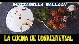 Mozzarella Balloon - Globo de Mozzarella a lo Death Star