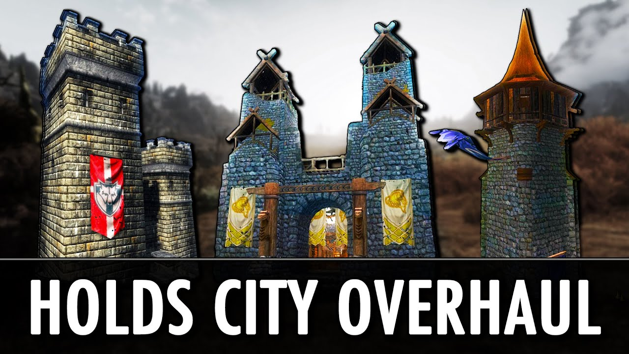 Скачать мод holds the city overhaul