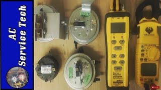 How the Gas Furnace Pressure Switch Works & Testing!