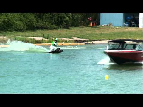 how to water ski jump