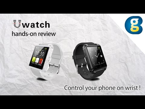 Smartwatch U Watch U8 hands-on review: Control your phone on wrist - Geekbuying