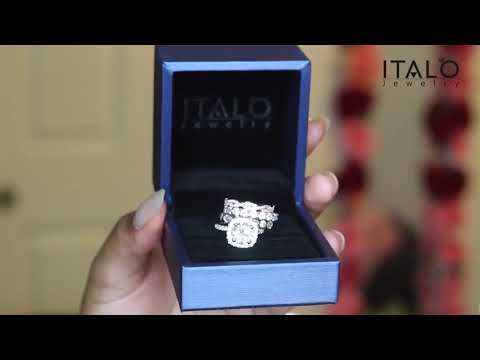 Wedding Ring Sets For Women | Italo Jewelry Unboxing & Review By De'Jha Joy (Sku: 231141,291045)