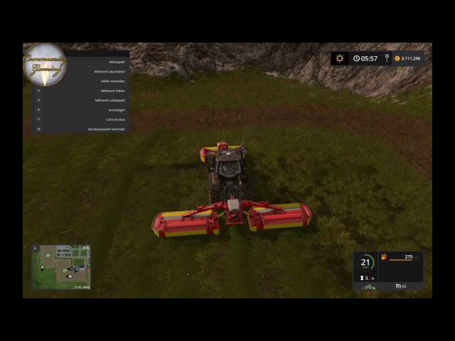 Let's Play Landwirtschafts Simulator 2017   Graß Mähen   Folge #019