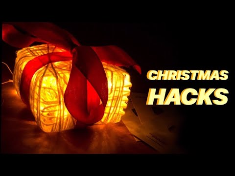 CHRISTMAS DECORATION | Very Easy | Light Gift Box