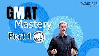 "GMAT Mastery Pt.1 - Get 20 Easy Points on the GMAT + Your GMAT ""Success Triad"""