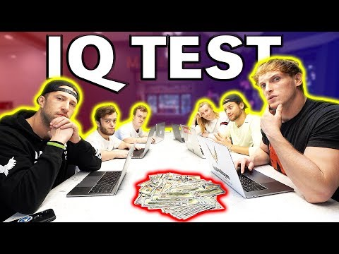 THE MAVERICK HOUSE TAKES IQ TESTS! **loser gets tattooed**