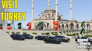 Gta 5   Micheal Visit to Turkey   Sultan Ahmad Mosque   Gta 5 Pakistan   Istanbul, Turkey