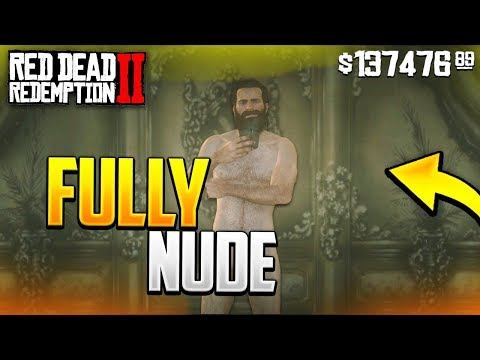 How To Get NAKED In Red Dead Redemption 2! (GLITCH TUTORIAL) *NEW*