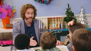 t j miller talks to kids about the holidays