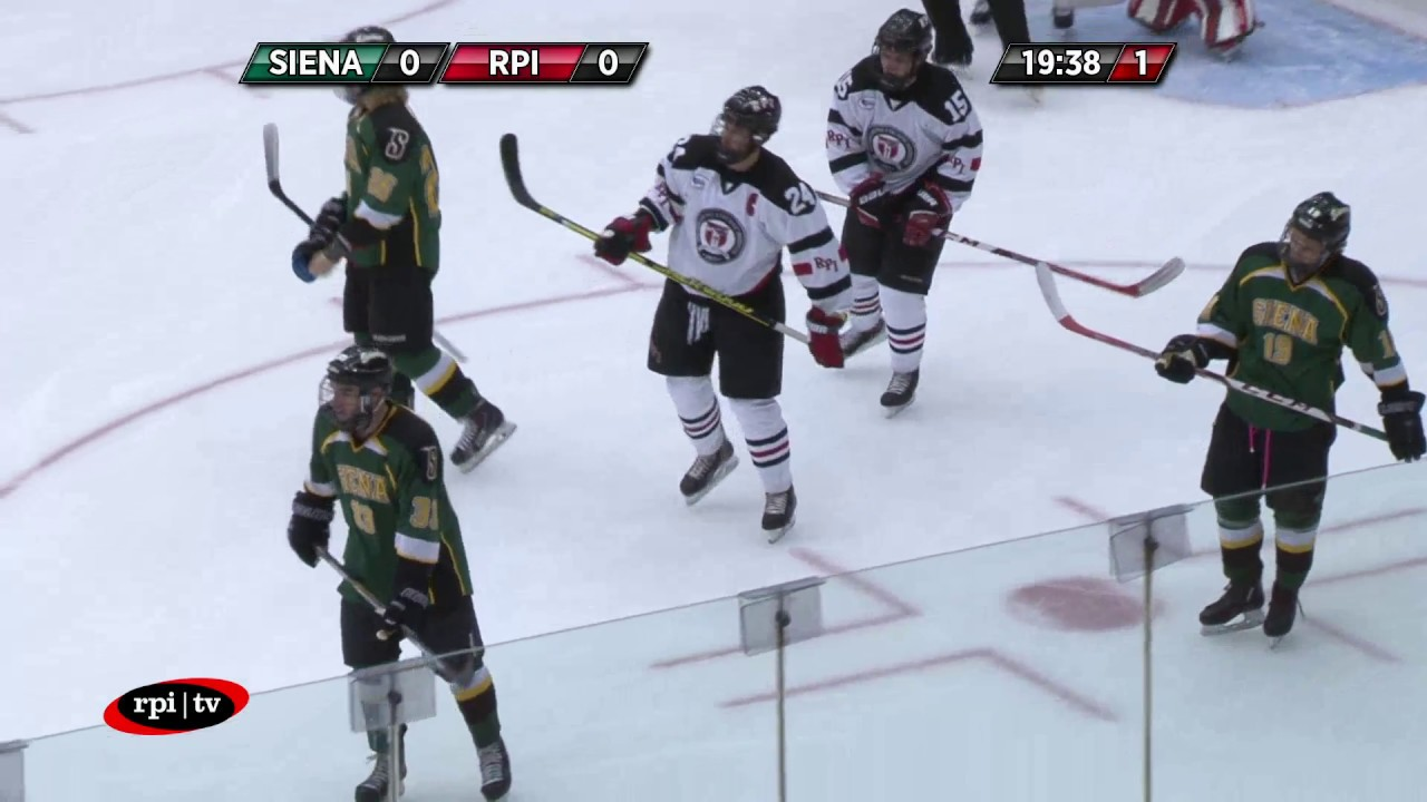 new product 96048 381be RPI ACHA Hockey vs. Siena College