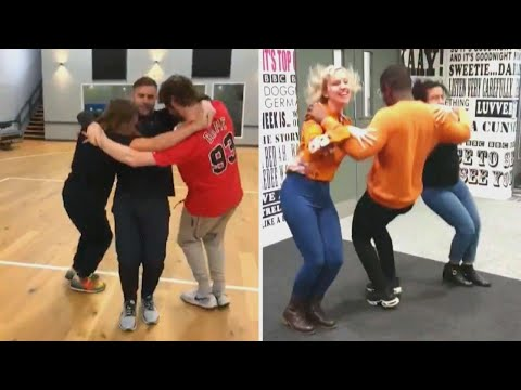 Dan & Shelby - The 'triangle dance' is here and people are nailing it