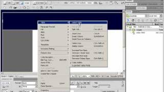 Step 5: Using Tables To Control Your Layout In Dreamweaver Cs4