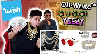 BUYING AN ENTIRE RAPPER OUTFIT FOR CHEAP WISH APP!