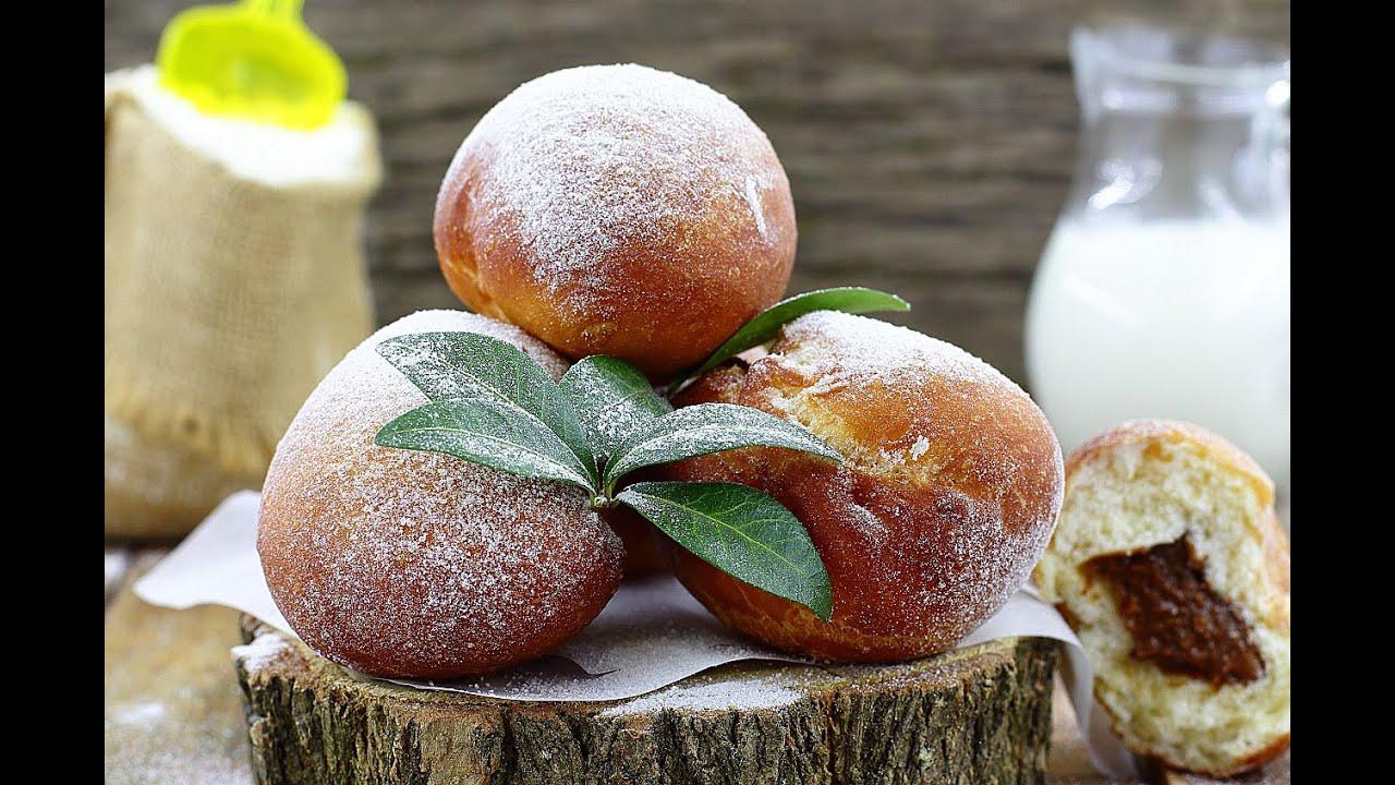 Пончики - 12 восхитительных пошаговых рецептов пончиков с фото 14
