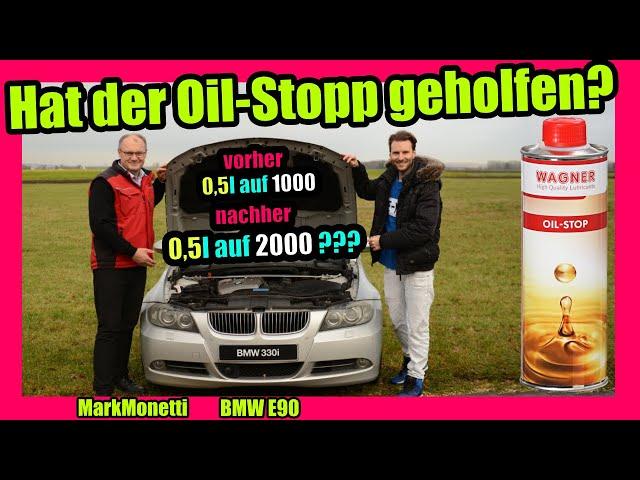 Geringerer Ölverbrauch durch Oil-Stopp? | Hat es geholfen? | MarkMonetti