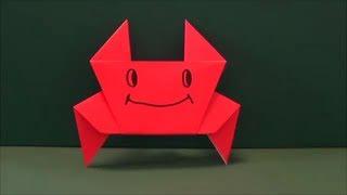 簡単「かに」折り紙Easy