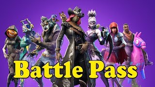 Fortnite Season 6 Battle Pass Showcase + Opinion on Fortnite