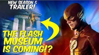 The Flash Museum Coming!? The Flash Season 5 Trailer #2 REACTION + Highlights!