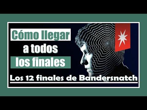 Los 12 finales de BANDERSNATCH Black Mirror (y cómo llegar a ellos)