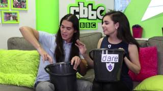 Sofia Carson and Booboo Stewart play Truth or Dare Challenge at BBC