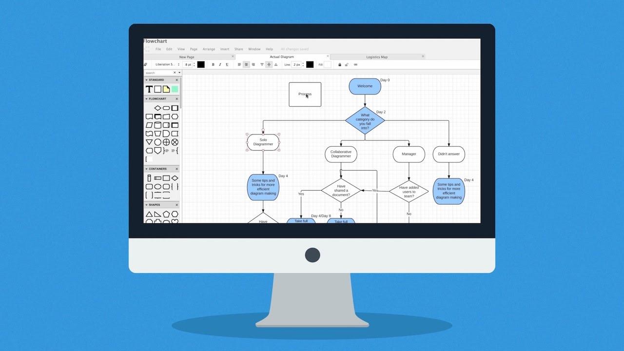 Lucidchart  Software Para Hacer Diagramas Online