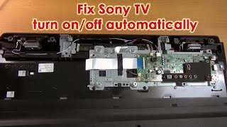 How to fix Sony TV turn on off automatically