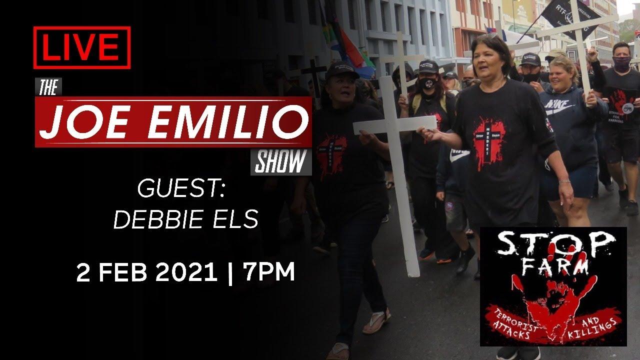 🔴 LIVE w/ Debbie Els | The Joe Emilio Show | 2 Feb 2021
