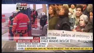 Chile Miner Rescue 9 Mario Gomez Heredia