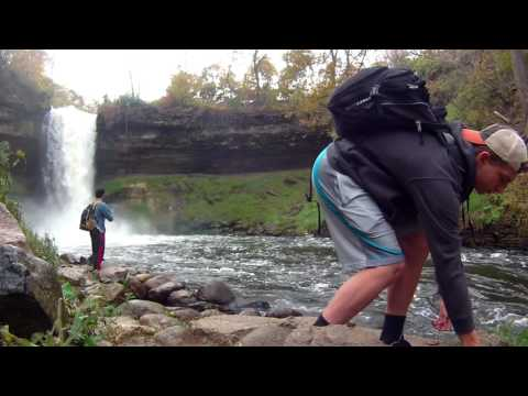 Minnehaha Falls Fishing, Minnesota. Bass And Walleye. Creeks.